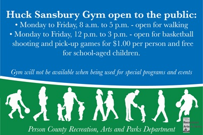 Huck Sansbury Gym Open Hours