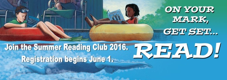 Summer Reading Program, Get In the Game Read, On Your Mark Get Set Read,
