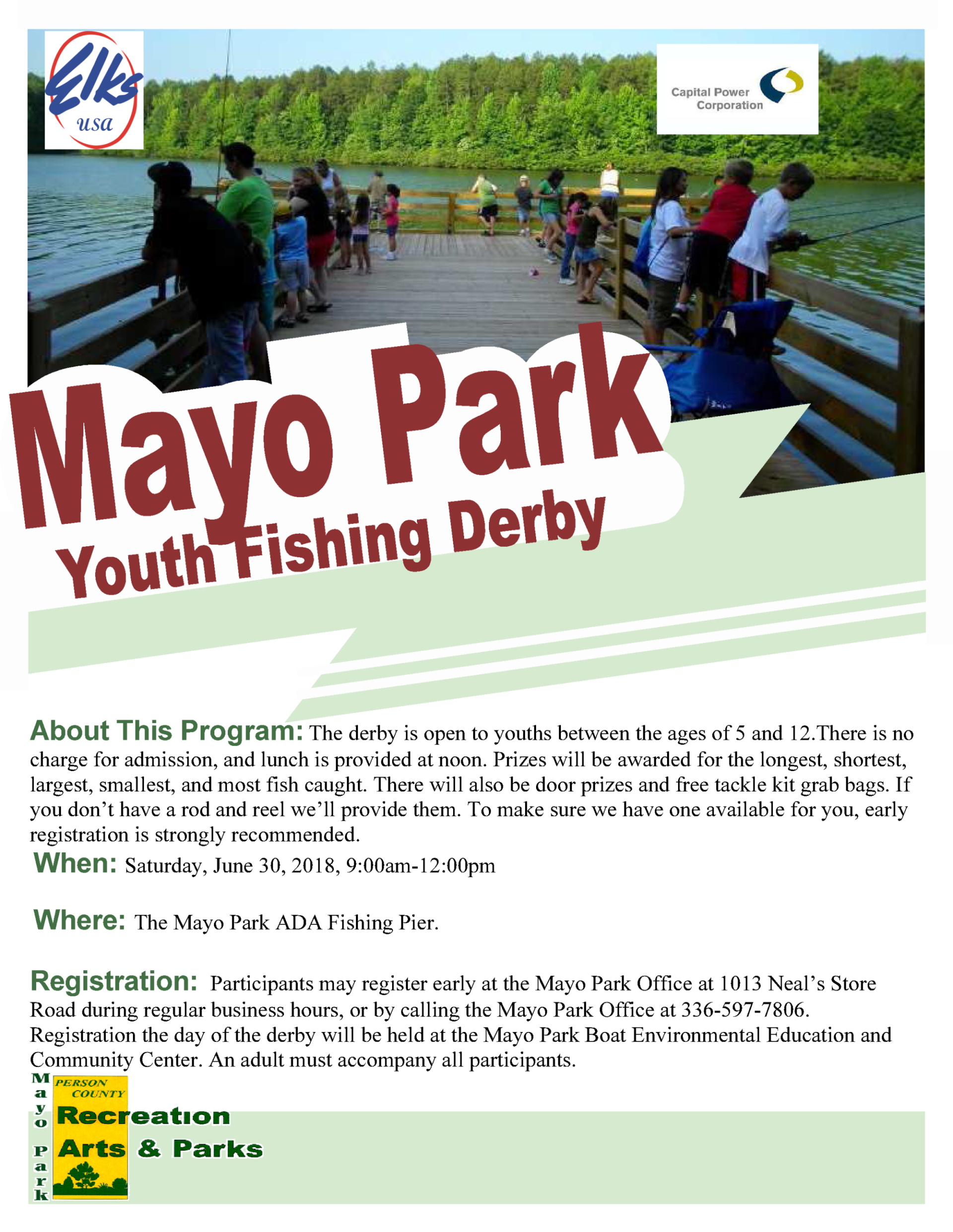 Person County, NC : 2009 Events : Youth Fishing Derby