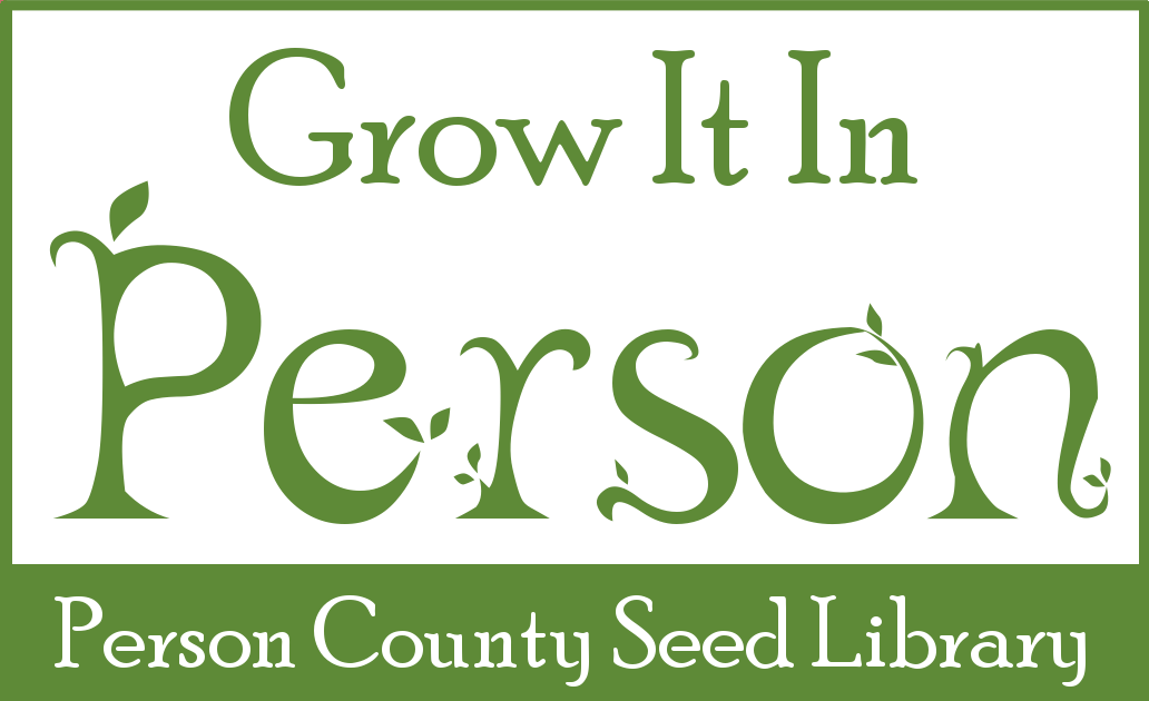 Grow It In Person: Person County Seed Library