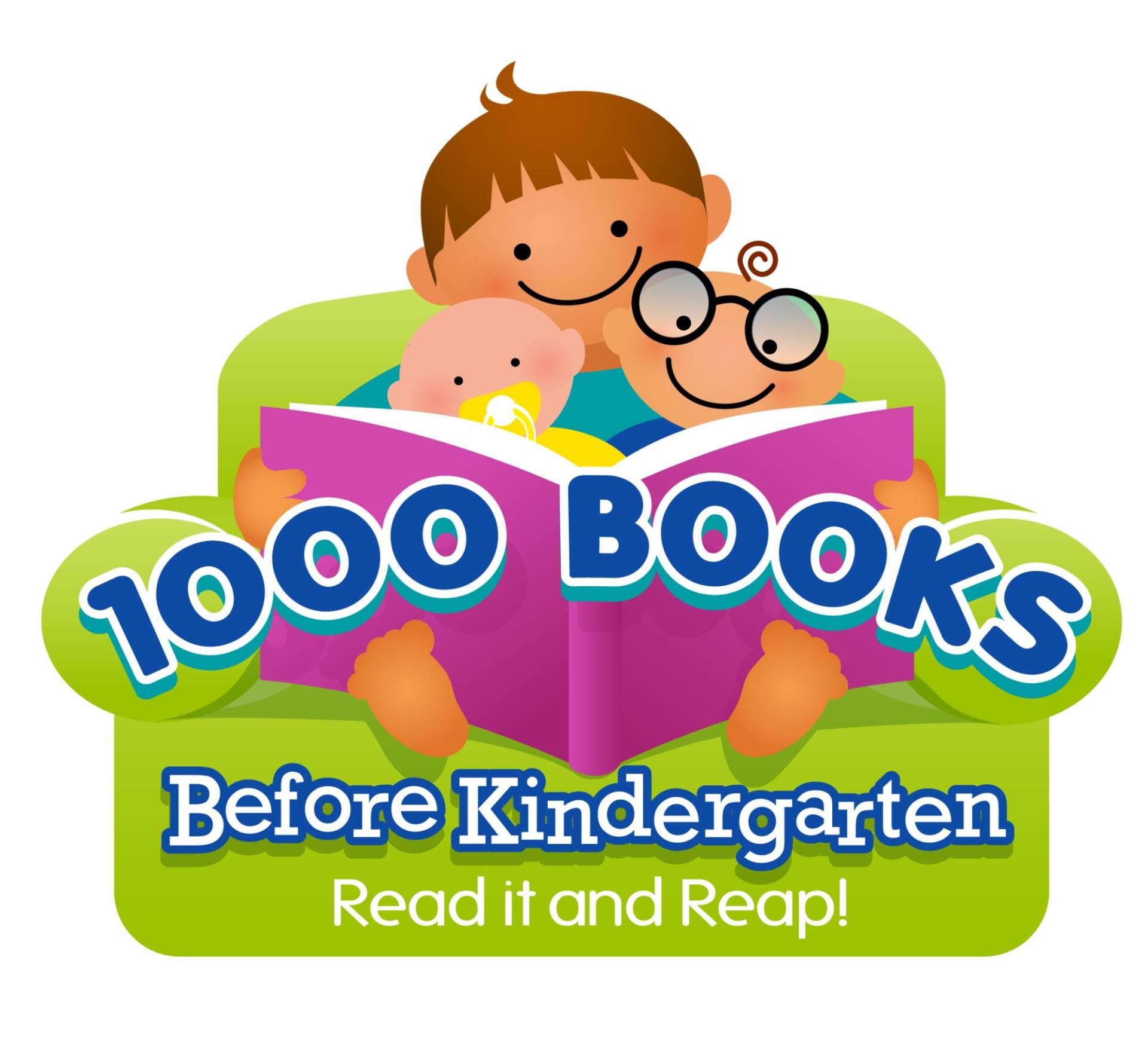 1000 Books green-logo